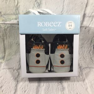 Robeez Soft Soles Apollo Grey 0-6 Months